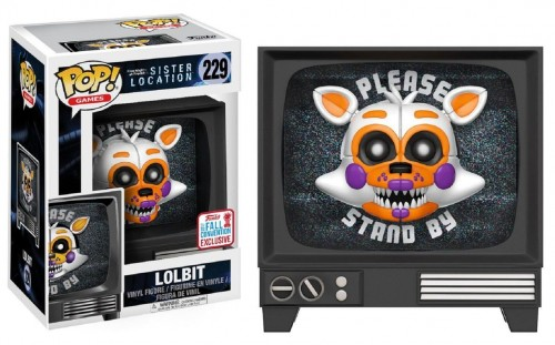 Five Nights At Freddy - Sister Location - Lolbit Pop! Vinyl Nycc Exclusive #229-Five Nights At Freddy's-229