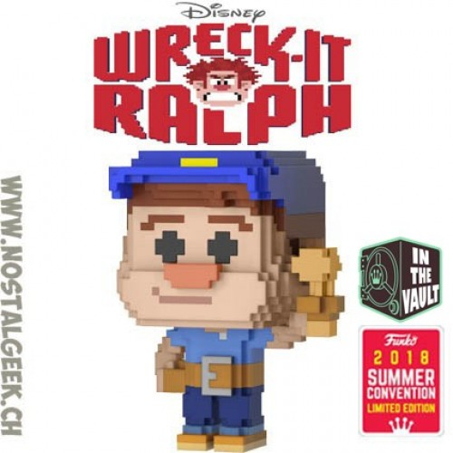 Funko Pop Fix-it Felix Exclusive 8-bit Wreck It Ralph Com Protetor-Wreck it Ralph-31
