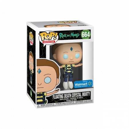 Floating Death Crystal Morty Rick And Morty Funko Pop! Exclusivo Walmart-Rick and Morty-664