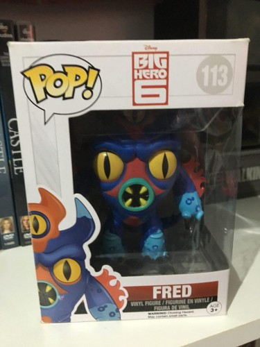Funko Fred-Big Hero 6-113
