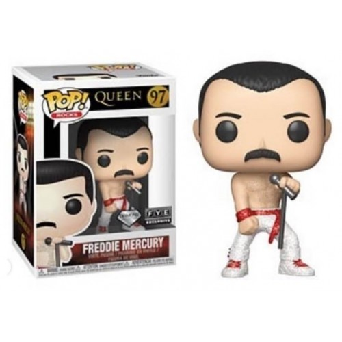 Funko Freddie Mercury Diamond - Fye - queen - #97