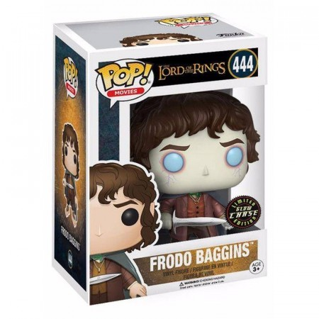 Funko Pop Frodo Baggins (chase)-The Lord of the Rings.-444