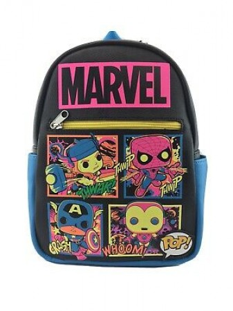 Funko Blacklight Mini Backpack-Marvel.-1