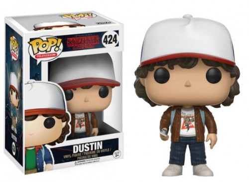Funko Dustin (brown Jacket - Barnes & Noble)-Stranger Things-424