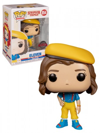 Funko Eleven (in Yellow Outfit) - Amazon Exclusive-Stranger Things-854