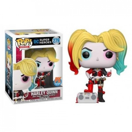 Funko Harley Quinn With Boombox - Px Exclusive-DC Super Heroes-279