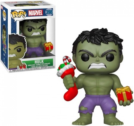 Funko Marvel - Hulk (holiday)-Marvel Studios-398