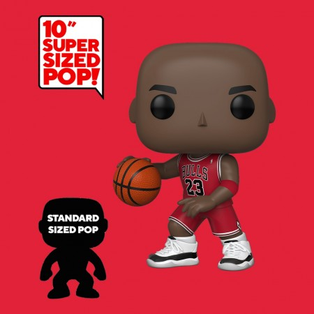"Funko Michael Jordan - Chicago Bulls (10"" Super Sized)-chicago bulls-75"