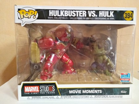 Funko Movie Momens Hulk Vs Hulkbuster-marvel-1