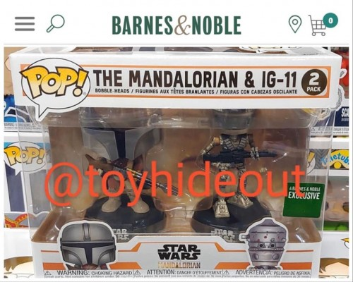 Funko 2 Pack The Mandalorian & Ig-11 Barnes And Noble-Star Wars-2