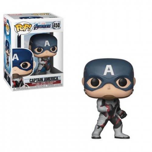 Funko Pop! Captain America-Vingadores - Ultimato-450