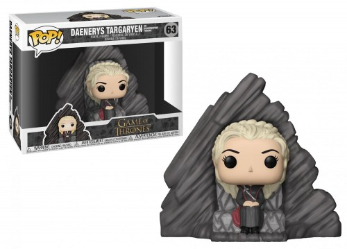 Funko Pop! Daenerys Targaryen On The Dragonstone Throne-Game of Thrones-63