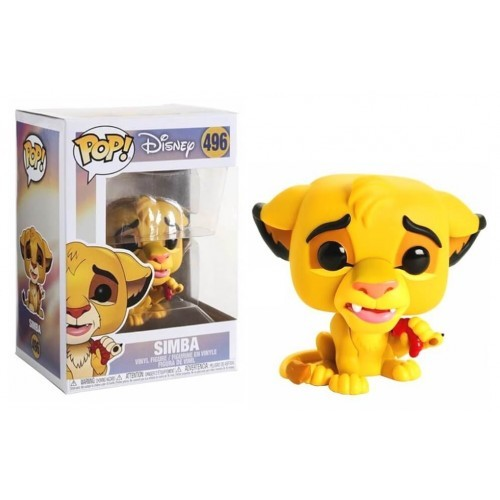 Funko Pop! Disney: Lion King - Simba-O Rei Leão-496