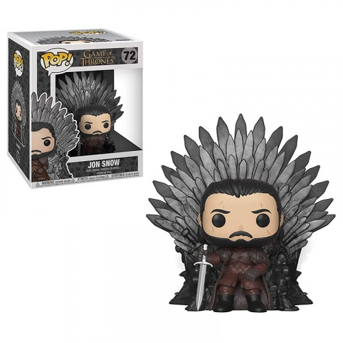 Funko Pop! Jon Snow On The Iron Throne-Game of Thrones-72