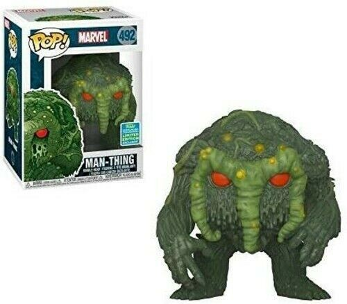 Funko Pop! Man-thing #492 Sdcc 2019 - Marvel - Original-Marvel Avengers-492