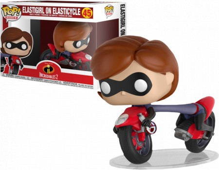 Funko Pop! Rides: Elasticycle #45 - The Incredibles 2-The Incredibles-45