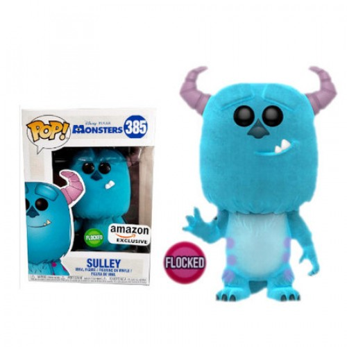 Funko Pop Sulley - Flocked ( Amazon Exclusive)-Monstros S.A-385