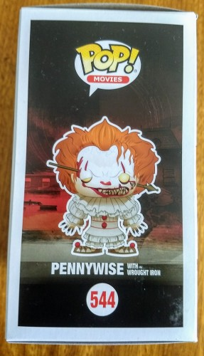 Funko Pennywise With Wrought Iron - Fye Exclusive - IT A Coisa - #544