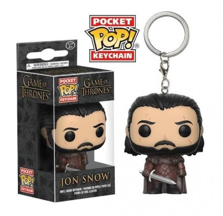 Chaveiro Funko Pockets Keychain Game Of Thrones- Jon Snow - Game Of Thrones - #
