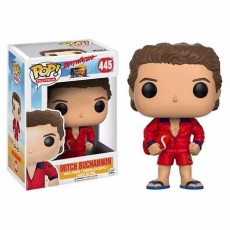 Funko Pop! - Baywatch - Mitch Buchannon-Baywatch-445
