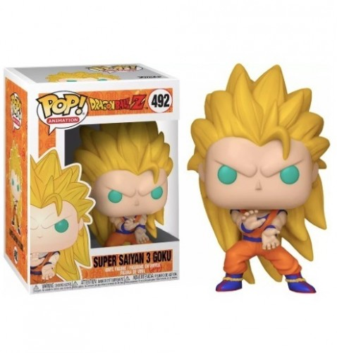 Funko Pop! - Dragon Ball - Goku Super Saiyan 3-Dragon Ball-492