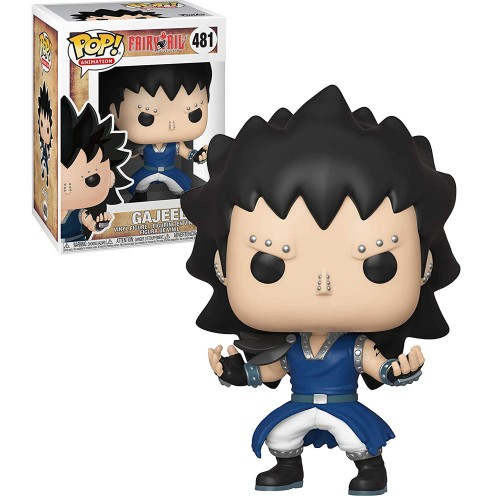 Funko Pop! - Fairy Tail - Gajeel-Fairy Tail-481
