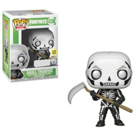 Funko Pop! - Fortnite - Caveirão - Skull Trooper Glows-Fortnite-438