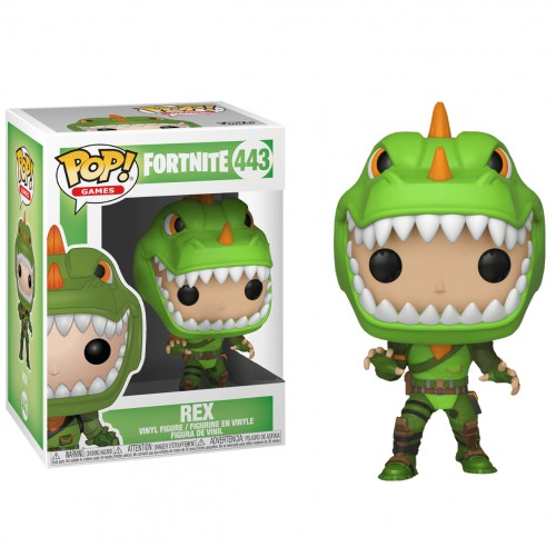 Funko Pop! - Fortnite - Rex-Fortnite-443