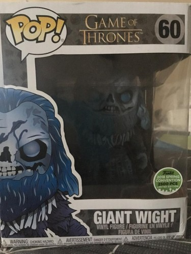 Funko Pop! - Giant Wight  (yargos) - Game of Thrones - #60