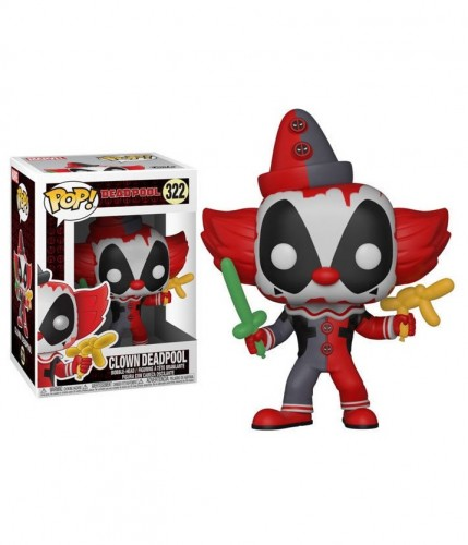 Funko Pop! - Marvel - Deadpool - Clown Deadpool-marvel-322