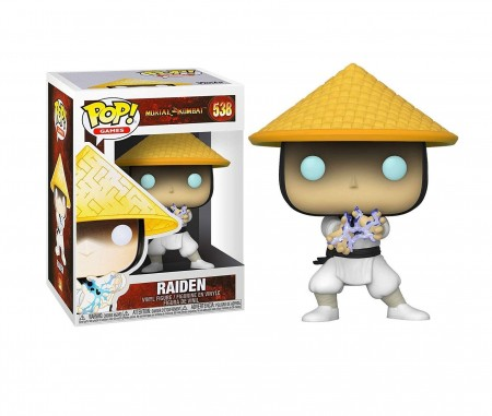 Funko Pop! - Mortal Kombat - Raiden-Mortal Kombat-538