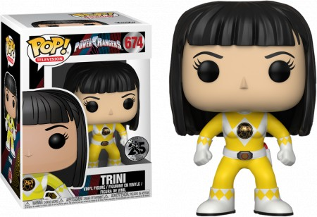 Funko Pop! - Power Rangers - Amarelo - Trini-Power Rangers-674