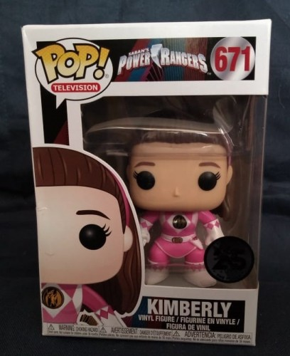 Funko Pop! - Power Rangers - Rosa - Kimberly-Power Rangers-671