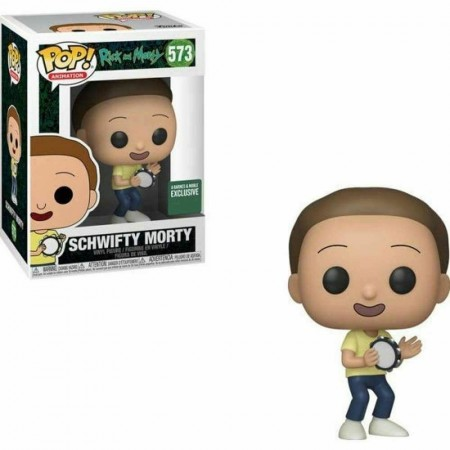 Funko Pop! - Schwifty Morty - Rick And Morty - Exclusivo B&n-Rick and Morty-573