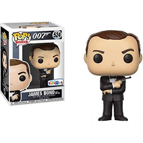 Funko Pop - 007: James Bond (exc Toysrus)-007 James Bond-524
