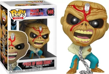 "Funko Pop! ""piece Of Mind Eddie""-Iron Maiden-146"