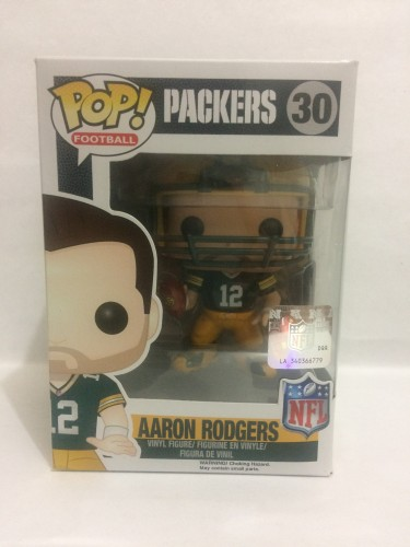 Funko Pop - Aaron Rodgers - Green Bay Packers-NFL-30