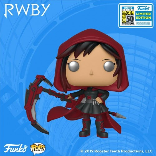 Funko Pop Ruby Rose Sdcc 2019-SDCC 2019-100