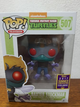 Funko Pop - Baxter Stockman Convention 2017-As Tartarugas Ninjas-507
