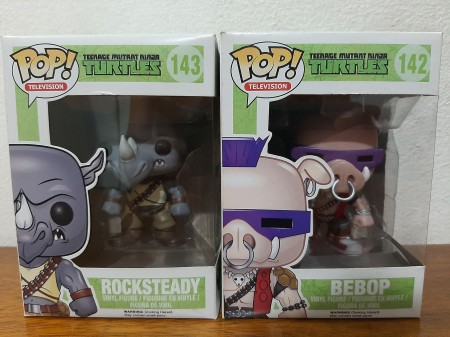 Funko Pop - Bebop + Rocksteady Tartarugas Ninja-As tartarugas Ninjas-142