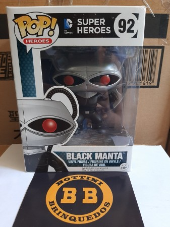 Funko Pop - Black Manta-DC Super Heroes-92