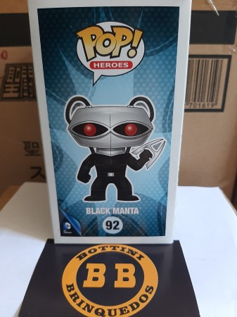Funko Pop - Black Manta - DC Super Heroes - #92
