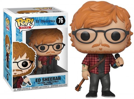Funko Pop - Ed Sheeran-Ed Sheeran-76