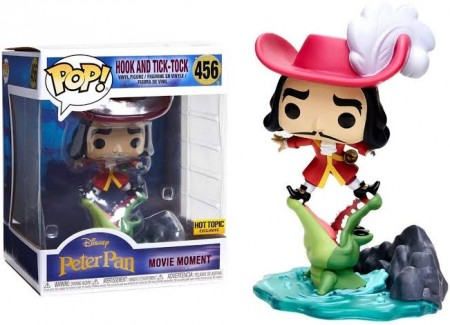 Funko Pop - Hook E Tick Tock-disney peter pan-456