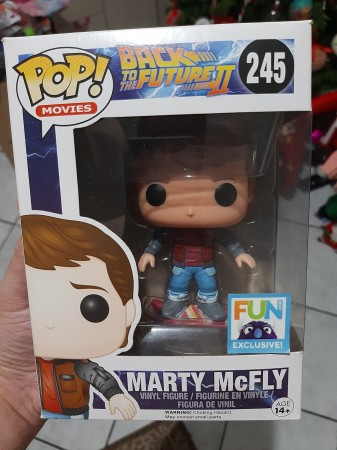 Funko Pop - Marty Mcfly Fun Exclusive-Back To The Future-245