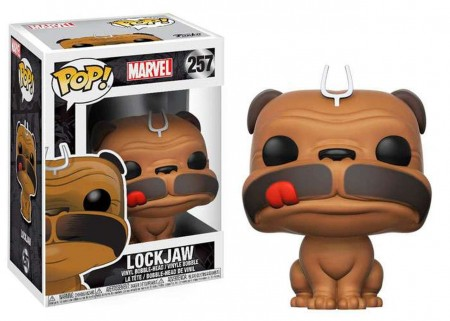 Funko Pop!: Marvel - Lockjaw-marvel-257