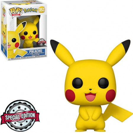 Funko Pop - Pokemon Pikachu Special Edition-Pokemon-353
