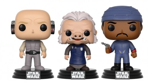 Funko Pop - Star Wars: 3 Pack Lobot, Ugnaugt E Bespin Guard (exc Wallmart)-Stars Wars-3
