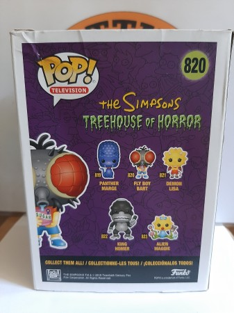 Funko Pop - Treehouse Horror Fly Boy Bart - The Simpsons - #820