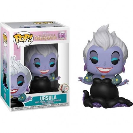 Funko Pop - Ursula Pequena Sereia-Disney The Litte Mermaid-568